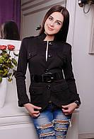 Пиджак женский Кутюр черный 845