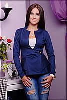 Пиджак женский Баска синий 847