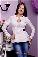 Пиджак женский Баска белый 849