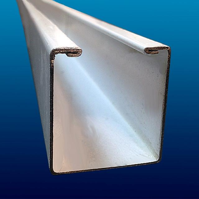 Верхняя направляюшая раздвижной решетки
