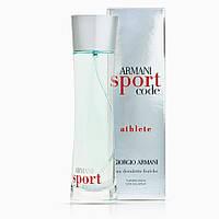 Мужская туалетная вода Armani Code Sport Athlete Giorgio Armani, 100 мл