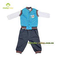Детский костюм на флисе для мальчика (тройка)
