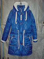 Оригинальная курточка на силиконизированном синтепоне