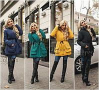 Модная Зимняя Женская Парка на Меху! Батал.
