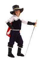 Кот в сапогах новогодний карнавальный костюм для мальчика