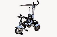 Велосипед детский 3-х колесный с надувными колёсами Mars Trike белый