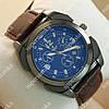 Стильные наручные часы Hublot 6291 Brown/Black Silver/Blue 1232