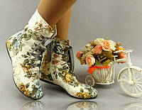 Женские стильные ботиночки на шнуровке. АРТ-0130