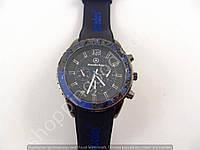 Часы Mercedes Benz 013592 мужские черные с синими вставками