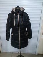 Полу-пальто Kapre 1815 черный/молочный