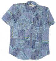 Тонкая приталенная рубашка