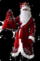Дед Мороз новогодний карнавальный костюм для мальчика