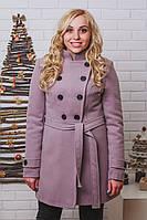 Пальто женское кашемировое серень, фото 1