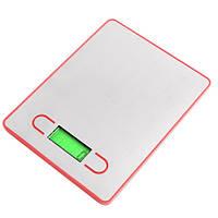 Электронные весы для кухни, модель 163, взвешивание до 5 кг, металл, 2ААА, 140*180мм