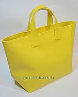 Сумка Женская Furla матовая желтая