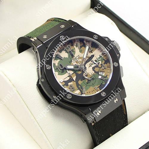 Практичные наручные часы Hublot Big Bang Chronograph AAA Military 1241