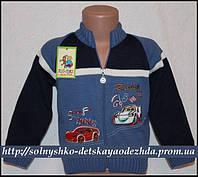 Детская кофта для мальчика на молнии (Маквин)