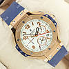 Необычные наручные часы Hublot Big Bang AAA Blue/Gold/White 1256