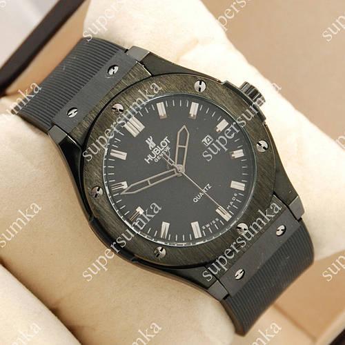 Повседневные наручные часы Hublot Big Bang AA quartz all Black 1252