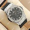 Элегантные наручные часы Hublot Big Bang AA quartz Black/Silver/Black 1253