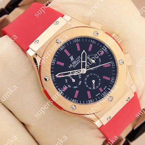 Яркие наручные часы Hublot Big Bang AA Red/Gold/Black 1257