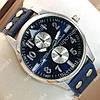 Повседневные наручные часы IWC Schaffhausen Blue/Silver/Blue 3506