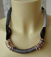 Ожерелье женское колье модное стильное ювелирная бижутерия 4466