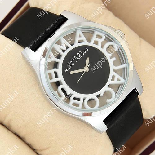 Элегантные наручные часы Mark Jacobs Henry Skeleton Black 1015-0010