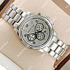 Стильные наручные часы Michael Kors Classic Silver/Silver 1601