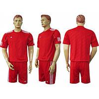 Футбольная форма AD Ф2 красно-белая
