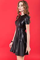 Красивое модное платье из эко-кожи MY SKIN