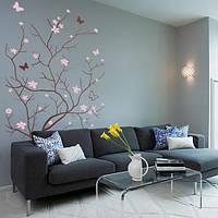 Интерьерная наклейка Весеннее деревце