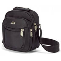 Мужская сумка через плечо, барсетка, Benzi - 3720, черная.