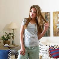 Комплект женский с шортами Florence от  CASUAL AVENUE размер M GRAY-SEAFOAM