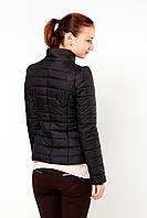 Осенняя женская куртка  Exclusive 2015 черный скидка