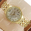 Стильные наручные часы Michael Kors Brilliant Gold/White 1629