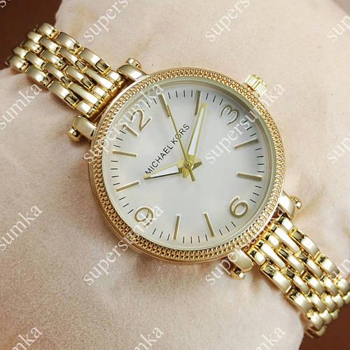 Кварцевые наручные часы Michael Kors Gold/White 1643