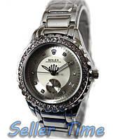 Металлические женские часы Rolex