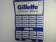 Двусторонние лезвия Gillette Silver ( Жиллетт сталь) 5 шт
