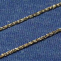 Женская серебряная цепочка на шею с шариками IC-18