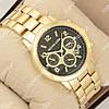 Классические наручные часы Michael Kors Classic Gold/Black 1016-0100