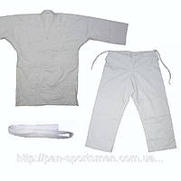 Кимоно дзюдо белое    130см-180см