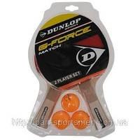 Набор ракеток для  настольного тенниса Dunlop +3шарика