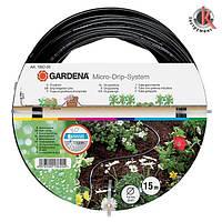 """Шланг сочащийся Gardena для наземной прокладки 4,6мм (3/16"""") 15м, Гардена (01362-20.000.00)"""