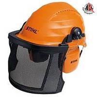 Шлем защитный Stihl с сеткой и наушниками New, Штиль (00008851400)