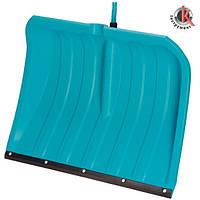 Лопата для уборки снега 50 см c пластиковой кромкой, Гардена (03241-20.000.00)