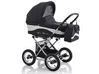 Детская универсальная коляска 2 в 1 Lonex Julia Baronessa JB-01