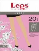 женские тонкие прозрачные колготки  20 ден legs HAPPY 20