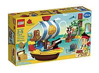 Конструктор lego duplo 10514 джейк и пираты нетландии