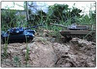 Танковый бой на радиоуправлении T-90 World of Tanks: 2 танка в комплекте